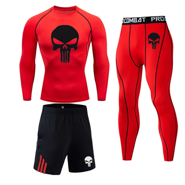 Men's Workout Jogging Sports Set