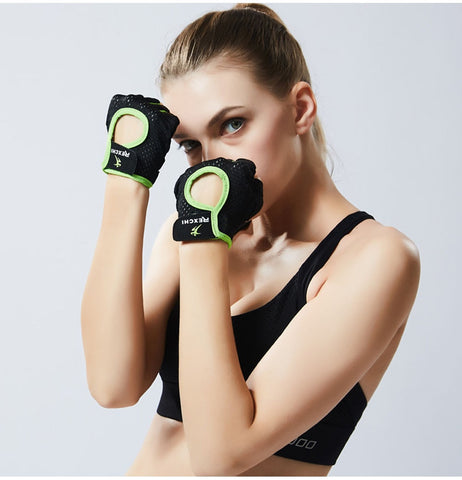 Gym Gloves - Half Finger Professional Trainig Gloves