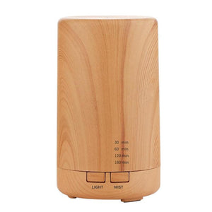 125ml Mini Bamboo Humidifier - LiquidDiffuser