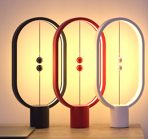 Magnetic Balance Table Lamp - Most Innovative Light Lamp | LiquidDiffuser