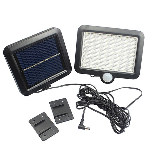 56 LED Solar Light Outdoors Solar Garden Light Waterproof PIR Motion Sensor Wall Lamp Spotlights Security Emergency Street Lamp
