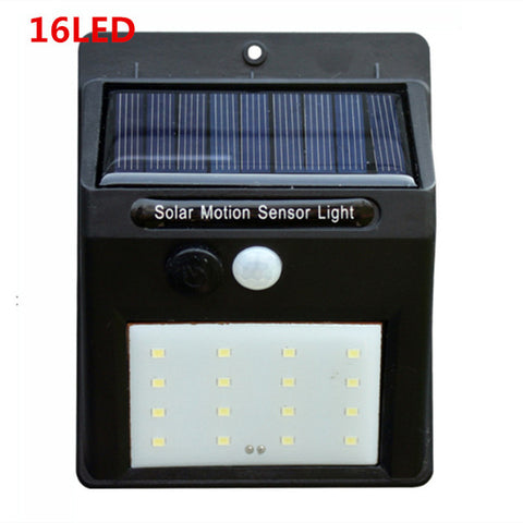 LED Solar Power Light Motion Sensor Wall Lighting Outdoor Garden Decoration lamp Stair Pathway Yard Security Waterproof Lights