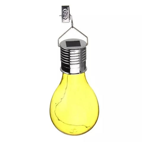 Led Solar Camping Hanging bulbs Outdoor Waterproof LED Solar Lights Bulb for Garden Yard tree Decoration