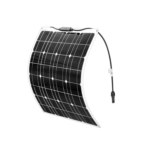 50w flexible solar panel Monocrystalline silicon cell for 12V Battery charger system 100W 150W 200W Panneau solaire