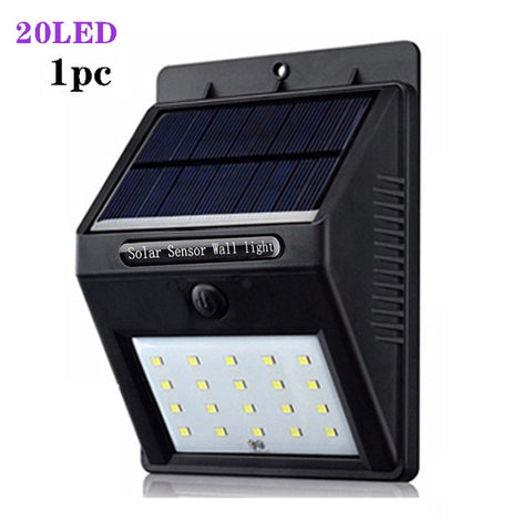 A2 Solar light outdoor solar energy Lighting 3.7V 40LED lamps Motion Sensor for home garden Street Yard Path Rode fenc wall