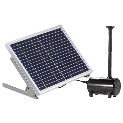 17V 10W Solar Pond Pump Brushless Fountain Water Pump With 6 Different Wells