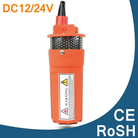 DC12V 24V 360LPH 70M Lift Small Submersible Solar Water Pump Solar Fountain Diaphragm Water Pump For Solar System CE RoSH ISO