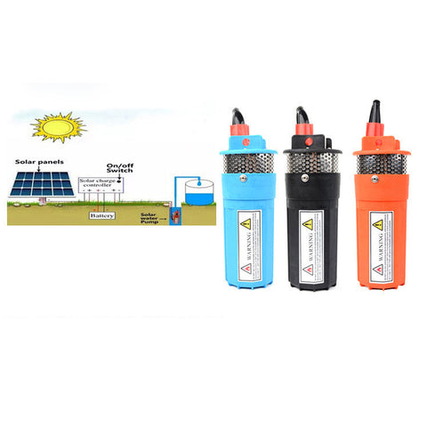 dc brushless solar water pump 70m solar water pump for fountain garden pond 24V solar mini water pump solar cell water pump