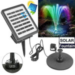 COCOZ LED light solar fountain energy storage fountain pump outdoor miniature garden Underwater light