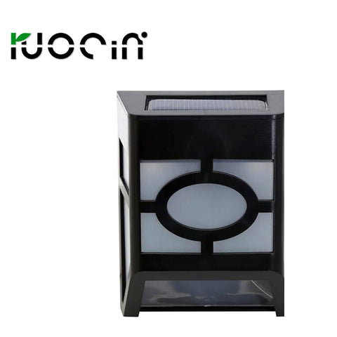 Hot selling solar lamp solar household outdoor optical decorative lighting lamps and lanterns N732 courtyard wall fence