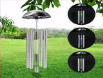 [wamami] Chime Solar Steel Color New Stainless Changing Light Wind Outdoor Garden