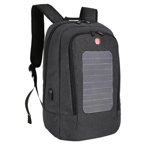 2017 The New Summer Backpack Solar Power Charger Backpack For Men And Women Fashion  Anti-theft Multifunction Rucksack