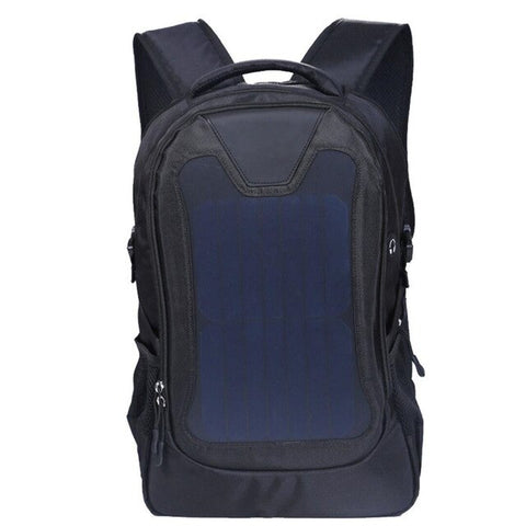Original waterproof 5V Solar Battery Charging Business Travel Backpacks Bags Tourism Solar Panel USB Output Charger computer bag