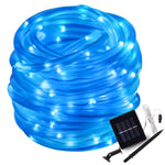 50/100 Led Solar Rope Tube String Lights Solar Power Patio Lights Christmas Light Lighting for Home Garden Lawn Party Decoration