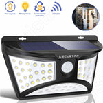 Outdoor LED Solar Light Motion Sensor for Garden Decoration Fence Wall Street Path Wireless Powered Solar Energy Lamp Waterproof
