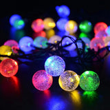 Led Solar Lamps Ball Waterproof Colorful Fairy Outdoor Solar Light Garden Christmas Party Decoration Solar String Lights