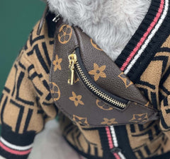 Dog clothing Louis Vuitton fanny pack