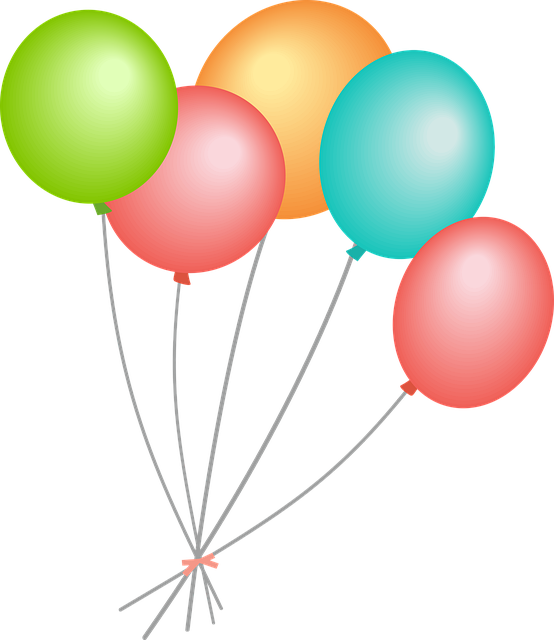 Balloons – perfect birthday party decorations