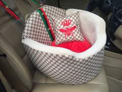 Luxury car seat bed for summer vacations