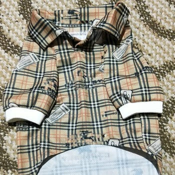 Burberry Inspired plaid styled shirt