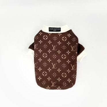 Louis Vuitton Inspired Jersey dog sweater