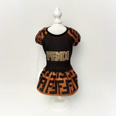 Handmade Fendi Inspired Dress