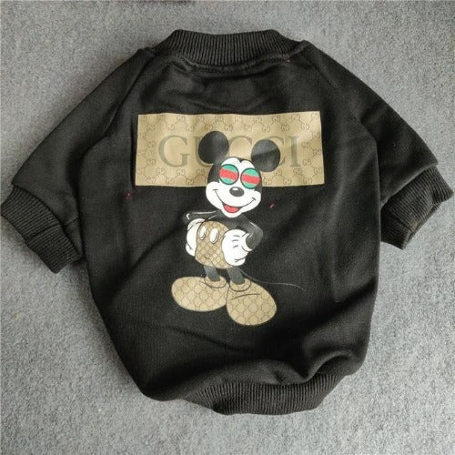 Gucci inspired mickey mouse shirt