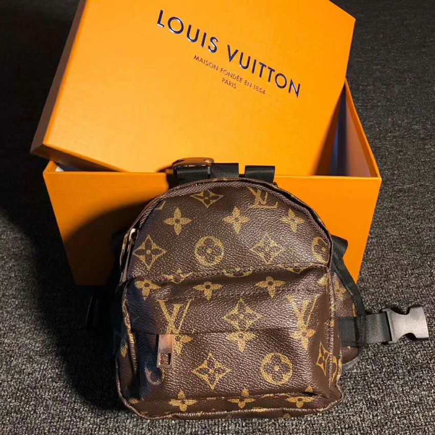 Louis Vuitton Inspired Dog Backpack