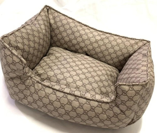Gucci Inspired dog bed
