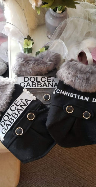 Hand-Made Dolce & Gabbana Dog Coat