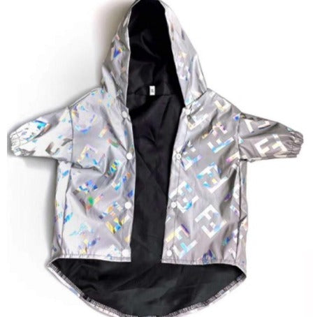 Fendi Inspired Reflective Jacket