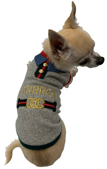 GRRRCI Heather Gray Dog Tank