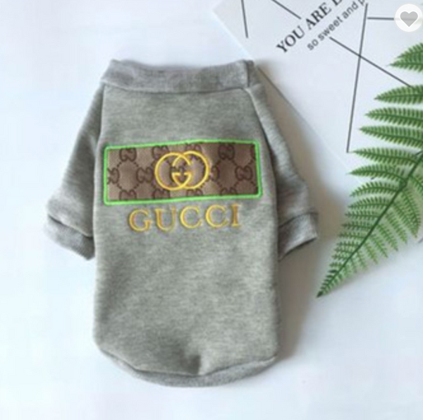 Heather Grey Gucci Inspired Sweatshirt
