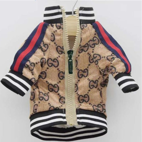 Gucci Inspired Jacket with Red and Green stripes