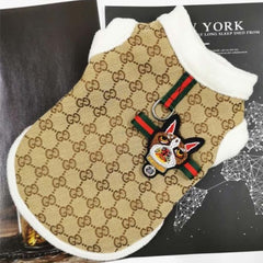 Gucci Inspired Soft and Cozy Fleece lined Winter Vest