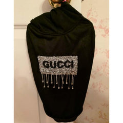 Gucci Inspired t-shirt with Crystal hoodie
