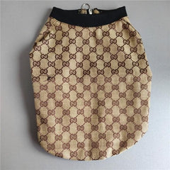 Hand-Made Gucci Inspired Winter Dog Coat
