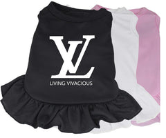 Louis Vuitton Living Vivacious Designer Dog Clothes