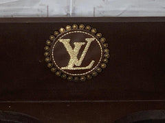 Handmade Louis Vuitton Inspired Pet Feeder