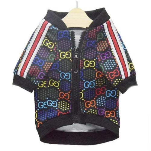 Gucci Inspired colorful logo jacket