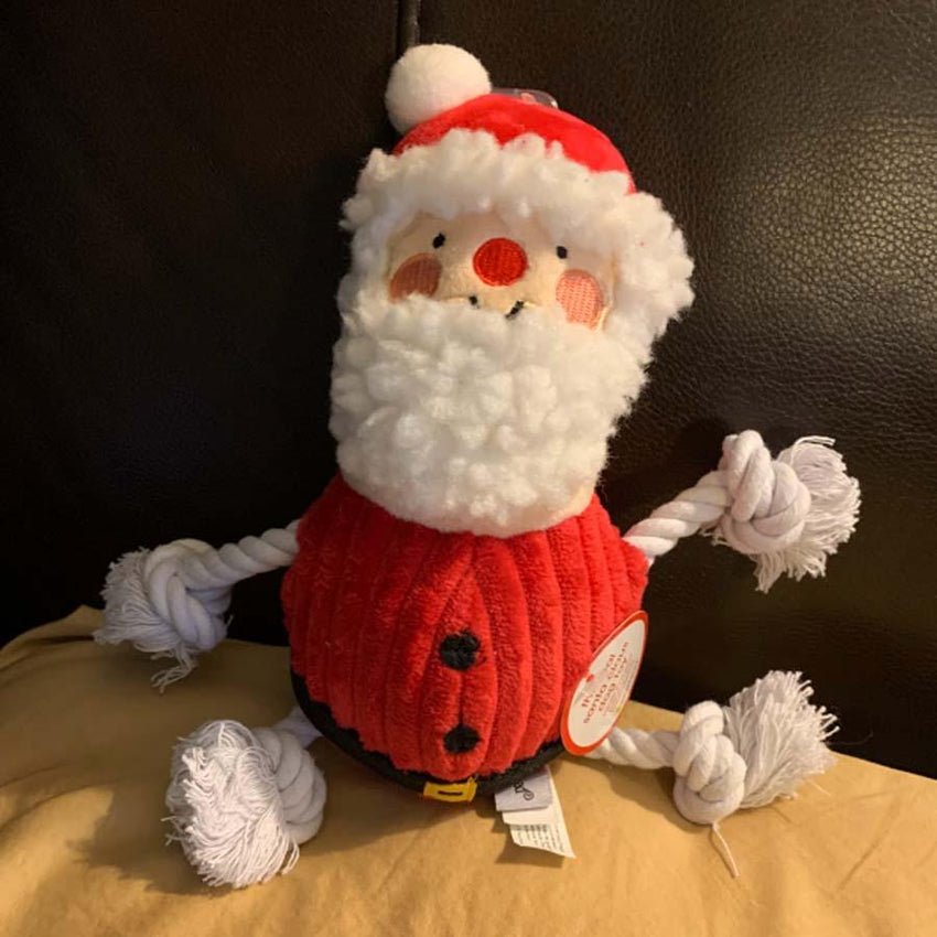 Santa Claus Plush Rope Toy