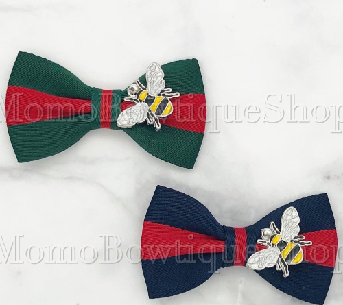 Gucci Inspired Dog Bows