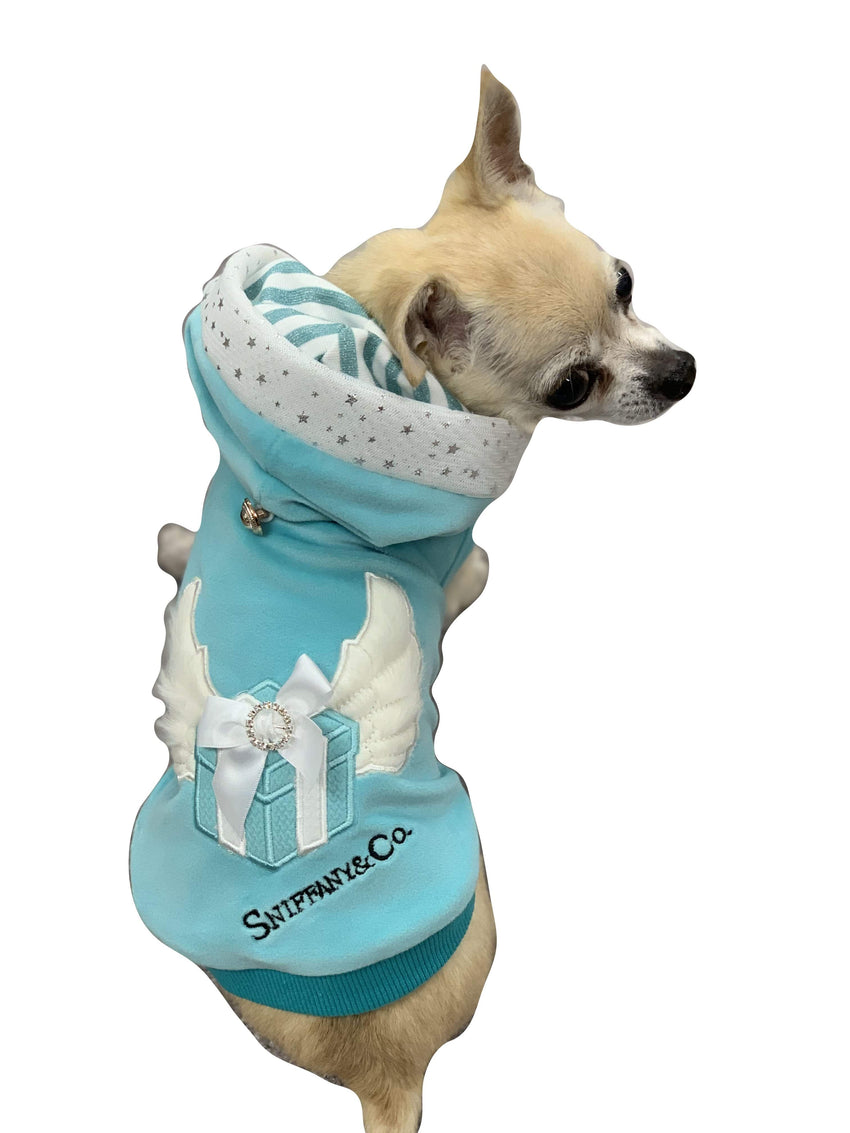 Sniffany Angel Blue Box Hoodie