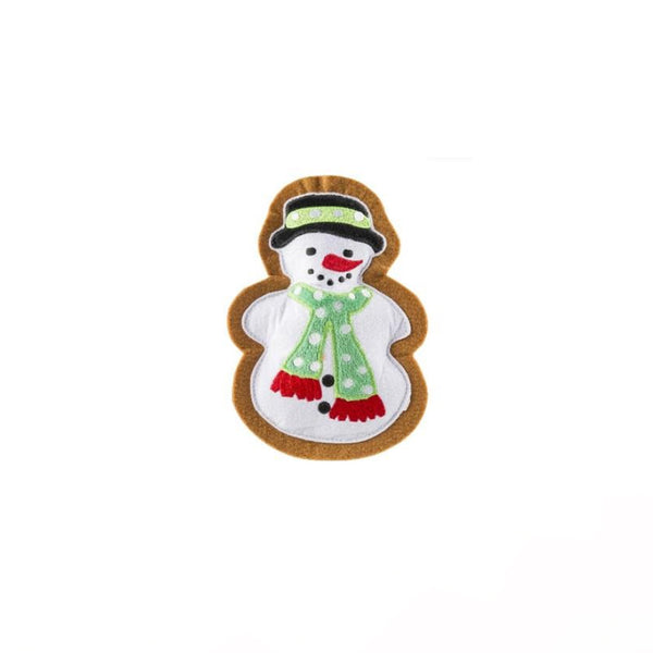 Wagnolia Bakery Snowman Holiday Cookie Plush Toy