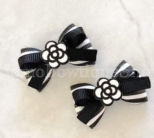 Chanel Inspired Dog Bows