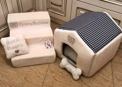 Cream Luxury Ballerina Pet Stairs