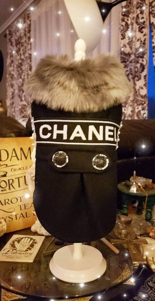Hand-Made designer inspired Dog Coat