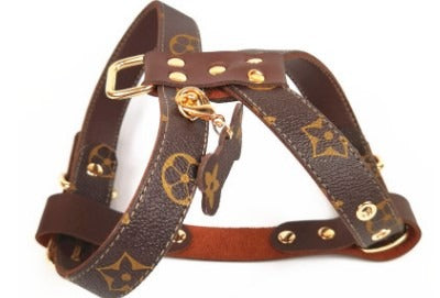 Louis Vuitton Inspired Monogram Harness
