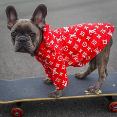 Louis Vuitton Inspired Dog Hoodie