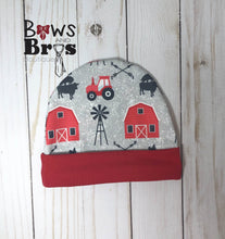 Load image into Gallery viewer, Home Grown Red Gender Neutral Coming Home Outfit- 1,2,3,4 or 5 Piece Set - Bows and Bros Boutique LLC